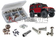 RC Screwz TRA081 - Traxxas TRX-4 Crawler Stainless Screw Kit