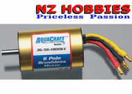 Aqua Craft Brushless 6-Pole Marine Motor 36-56-1800 # AQUG7002 AquaCraft
