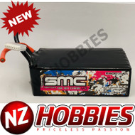 SMC RACING True Spec Extreme Graphene V2 22.2V-6400mAh-150C Softcase w/ XT90
