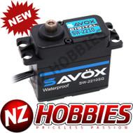 Savox SAVSW2210SG-BE Waterproof High Torque High Voltage Brushless Black Edition Digital Servo
