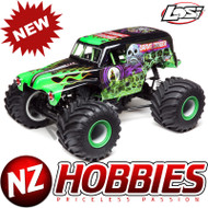 Losi LOS04021T1 LMT 4WD Solid Axle Monster Truck RTR, Grave Digger