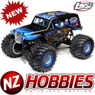 Losi LOS04021T2 LMT:4wd Solid Axle Monster Truck, SonUvaDigger:RTR