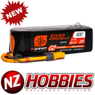 SPEKTRUM 5000mAh 6S 22.2V Smart G2 LiPo 50C; IC5 # SPMX56S50