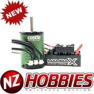 Castle Creations CSE010015510 MAMBA X 25.2V WP ESC w/ 1406-2850Kv Sensored Crawler Motor