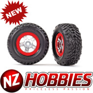 Traxxas TRA7073A Tires & Wheels, Assembled, Glued (1 Each, Right & Left)