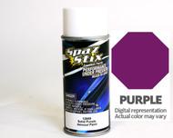 New Spaz Stix SZX12809 SOLID PURPLE Aerosol Paint - R/C Lexan Body - 3.5 oz