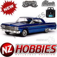 REDCAT SixtyFour 1:10 Scale RTR Hopping Lowrider BLUE IMPALA Classic Edition # RER13785