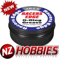 RACER EDGE RCE3023 O-Ring Grease (8ml) in Black Aluminum Tin w/Screw On Lid