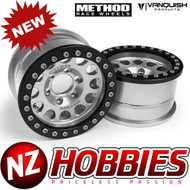 Vanquish Products VPS07914 METHOD 1.9 RACE WHEEL 105 CLEAR/BLACK ANODIZED