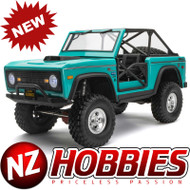 Axial AXI03014T1 SCX10 III Early Ford Bronco 1/10th 4wd RTR Turquoise Blue