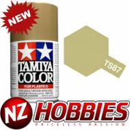 TAMIYA TAM85087 Lacquer Spray, TS-87 Titanium Gold, 100ml