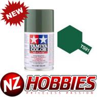 TAMIYA TAM85091 TS-91 Dark Green (JGSDF) 100ml Spray Can