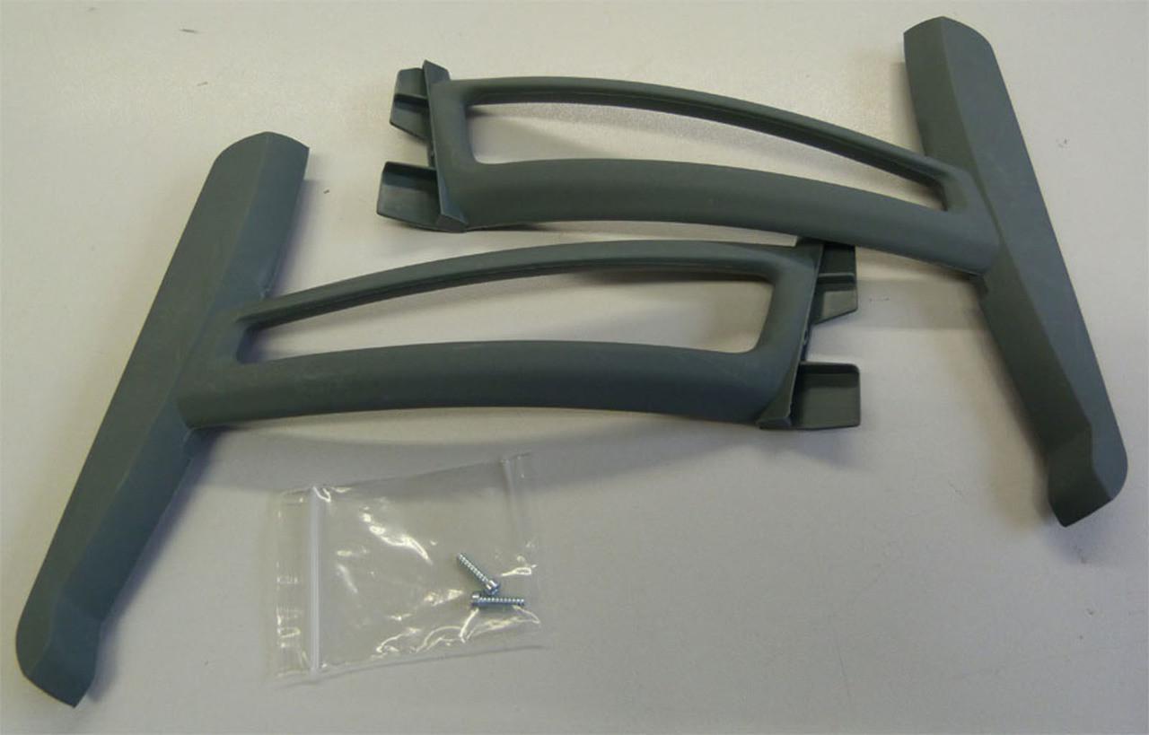 Blade BLH7815TGA 350 QX QX2 AP Tall Landing Gear Set w// Hardware Gray