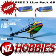 Blade BLH4755 Trio 360 CFX BNF Basic Helicopter w/ Free 2X 6S Lipo Battery