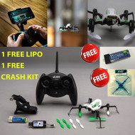 Blade BLH2200 Glimpse FPV Quad RTF w/ FREE One Battery + Crash Kit Combo