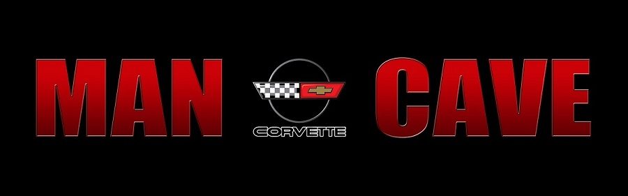 C4 Corvette Man Cave Sign