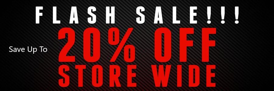 Flash Sale - Save Up to 20% Storewide