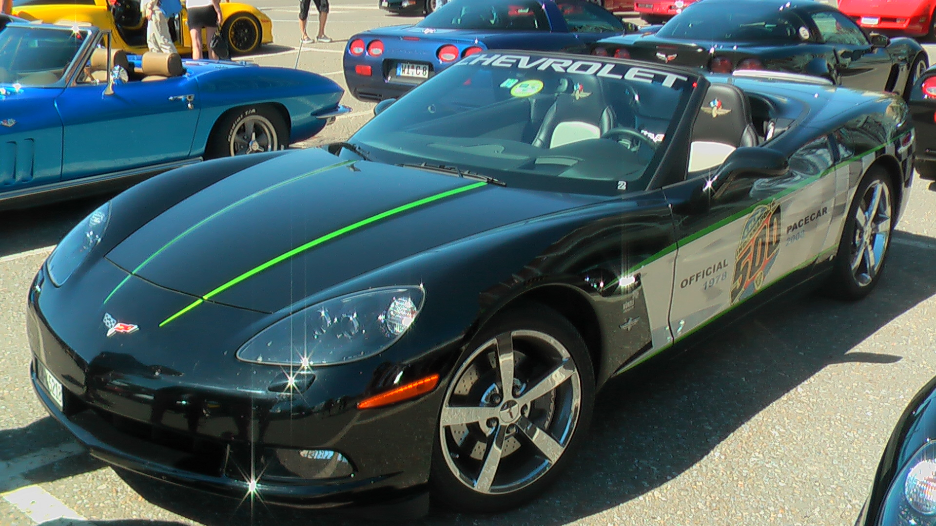 2008 Corvette Indy Pace Car #2 together with #23 - Andi Z