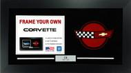 C4 Corvette Custom Framed Picture