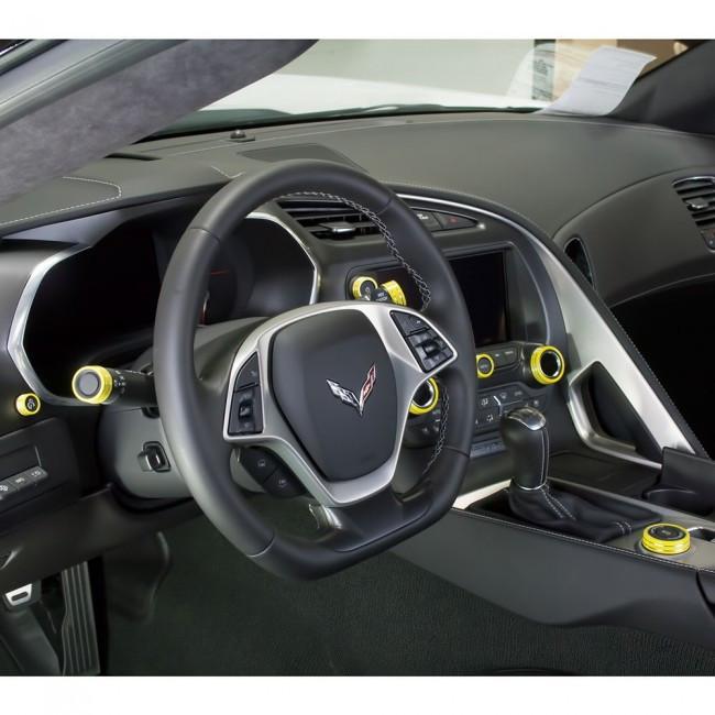 C7 Corvette Interior Knob Kit