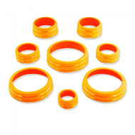 C7 Corvette Interior Knob Kit - Sebring Orange
