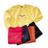 C6 Corvette Crewneck Sweatshirt (4 colors) w/ Yellow