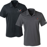 C7 Corvette Adidas Hand Polo Shirts