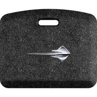 C7 Corvette Stingray Fish Mosaic Onyx 22x18 Mat