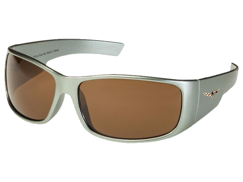 Gray C6 Corvette Sunglasses - Brown Tint
