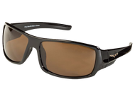 Black C6 Corvette Sunglasses - Brown Tint
