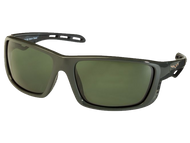 Gunmetal TCG C6 Corvette Sunglasses - Gray/Green Tint