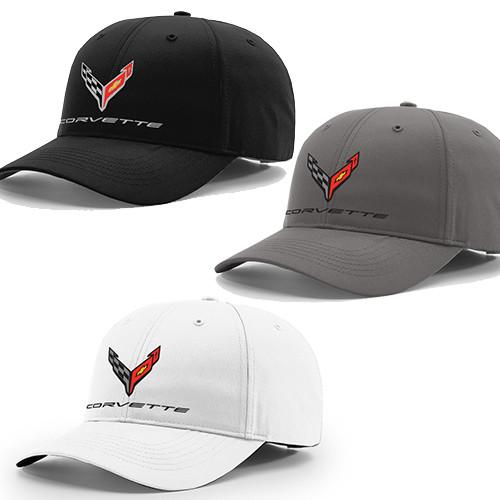 C8 Next Gen Corvette Performance Hat (black, gray, white)