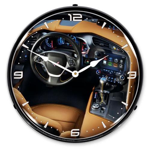C7 Corvette Dash LED Backlit Clock
