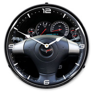 C6 Corvette Dash LED Backlit Clock