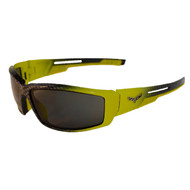 Corvette 1001 Driving Series Sunglasses - Yellow w/ Carbon Fiber