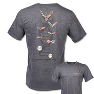 C8 Corvette Next Gen DNA Evolution Gray T-Shirt