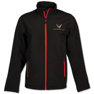 C8 Corvette Matrix Black Jacket