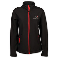 Women's C8 Corvette Matrix Black Jacket