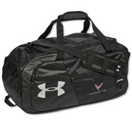 C8 Corvette Under Armour Black Duffle Bag