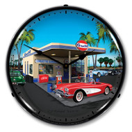 1957 C1 Corvette Clock