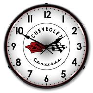 C1 Corvette Clock