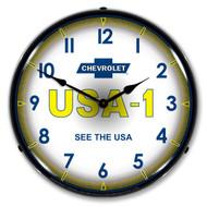 Chevy USA-1 Clock