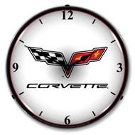 C6 Corvette Clock