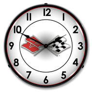 Corvette Backlit Clock