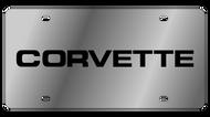 C4 Corvette License Plate