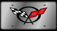C5 Corvette License Plate