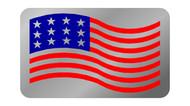 C5 Corvette American Flag Plate