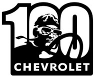 Chevrolet 100th Racer Sign
