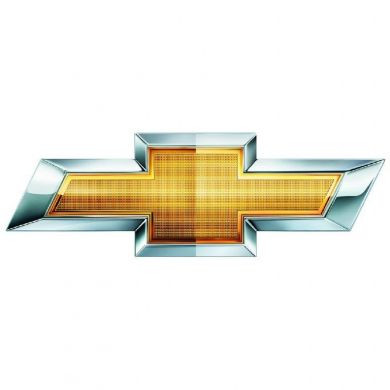 Chevy Gold Bowtie Sign