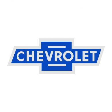 Chevy Blue Vintage Bowtie Sign
